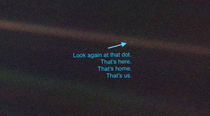 Image result for pale blue dot